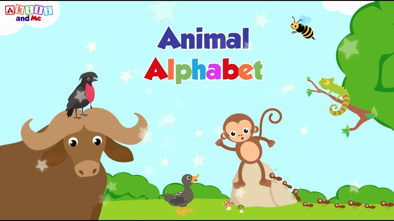 Animal Alphabet | Akili and Me African Cartoons | Animals from Africa... and around the World!