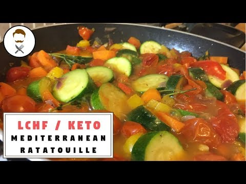 Mediterranean Ratatouille || The Keto Kitchen