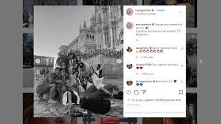 María Pombo y sus amigos 'influencers' llegan a Santiago