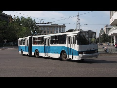 North Korea's Busses and Trams