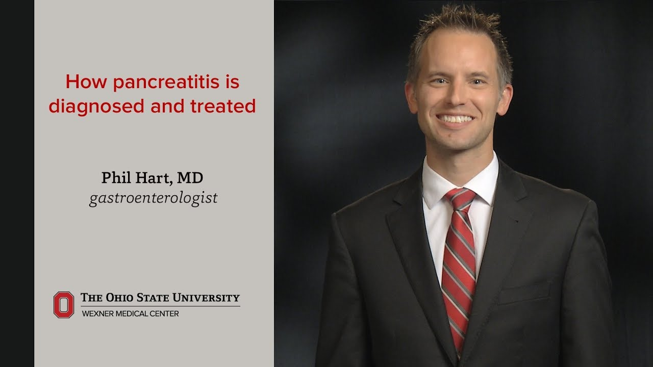 How pancreatitis is diagnosed and treated | Ohio State Medical Center #Gastroenterology