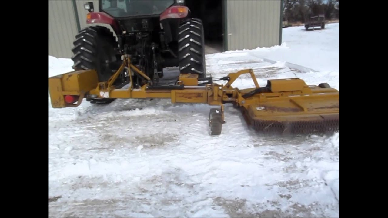 Woods Hs 105 60 Quot Hydraulic Ditch Mower For Sale Sold At
