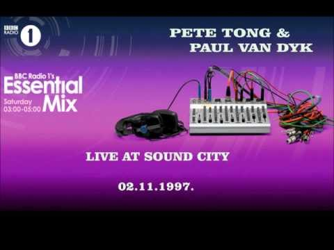 Pete Tong & Paul Van Dyk Live At Sound City 02.11.1997., Essential Mix At BBC Radio 1