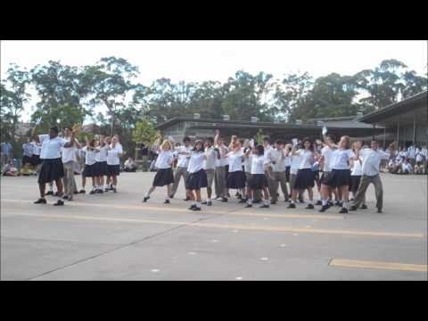 Kellyville High School Flashmob 2011
