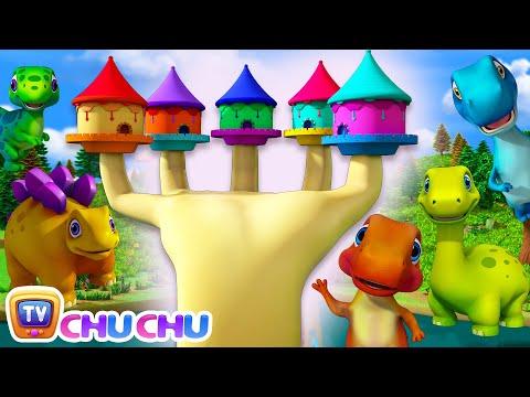 Learn Dinosaur Names with Dino Finger Family - 3D Nursery Rhymes & Baby Songs by ChuChu TV - วันที่ 07 Sep 2018