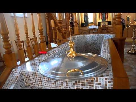 Inside a Russian Orthodox Church