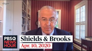 Shields and Brooks on COVID-19 suffering, Sanders' exit