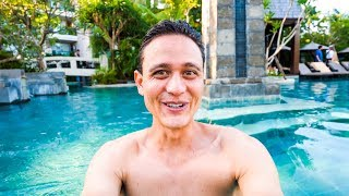 Bali LUXURY BEACH RESORT - Full Tour and Review of  Sofitel Hotel in Bali,  Indonesia! thumbnail