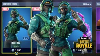 NOUVEAU REFLEX - INSTINCT SKINS - AXE ANGULAR - PIVOT GLIDER NEW FORTNITE ITEM SHOP UPDATE