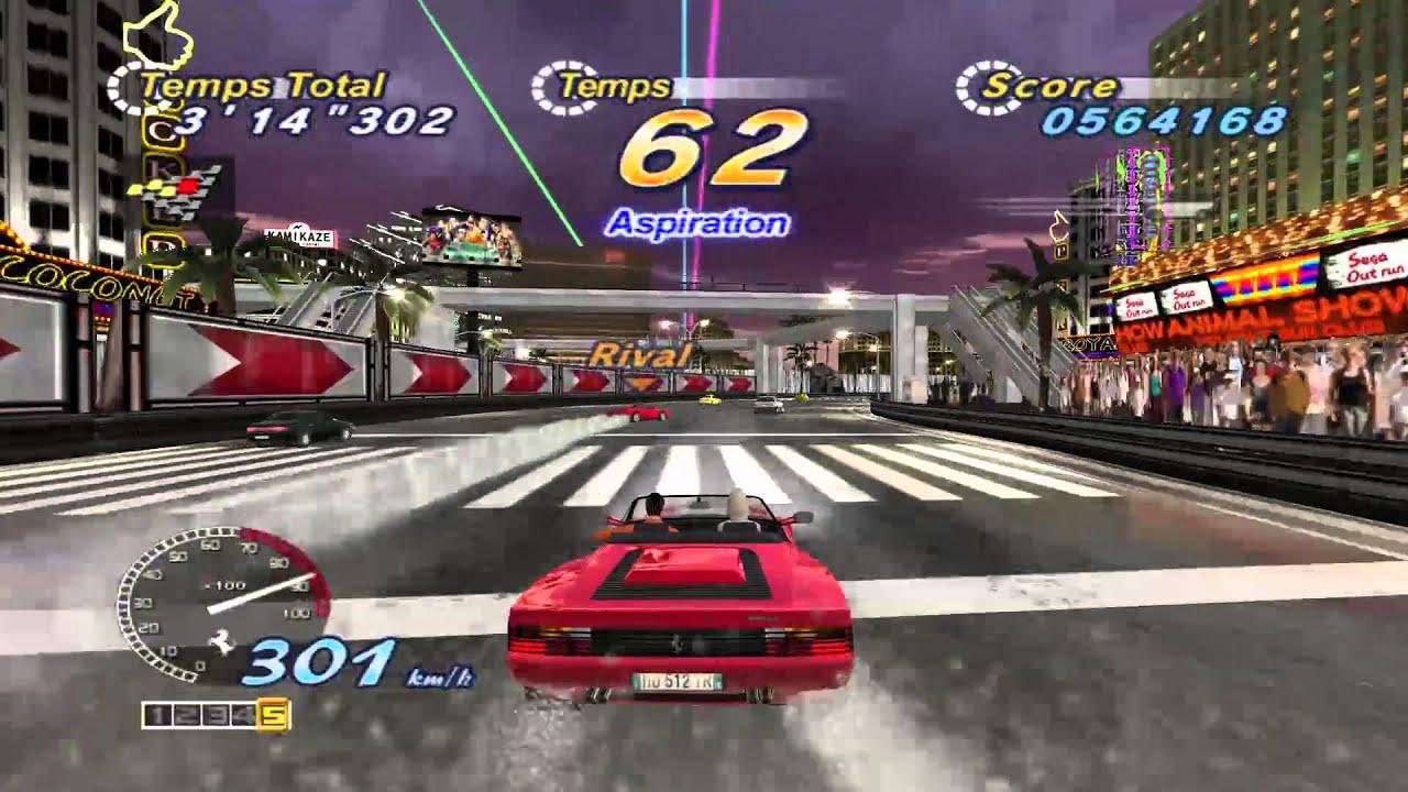 Arcade PC Game - OutRun 2 SP - OutRun 2006 Coast 2 Coast - Longplay HD -  60fps