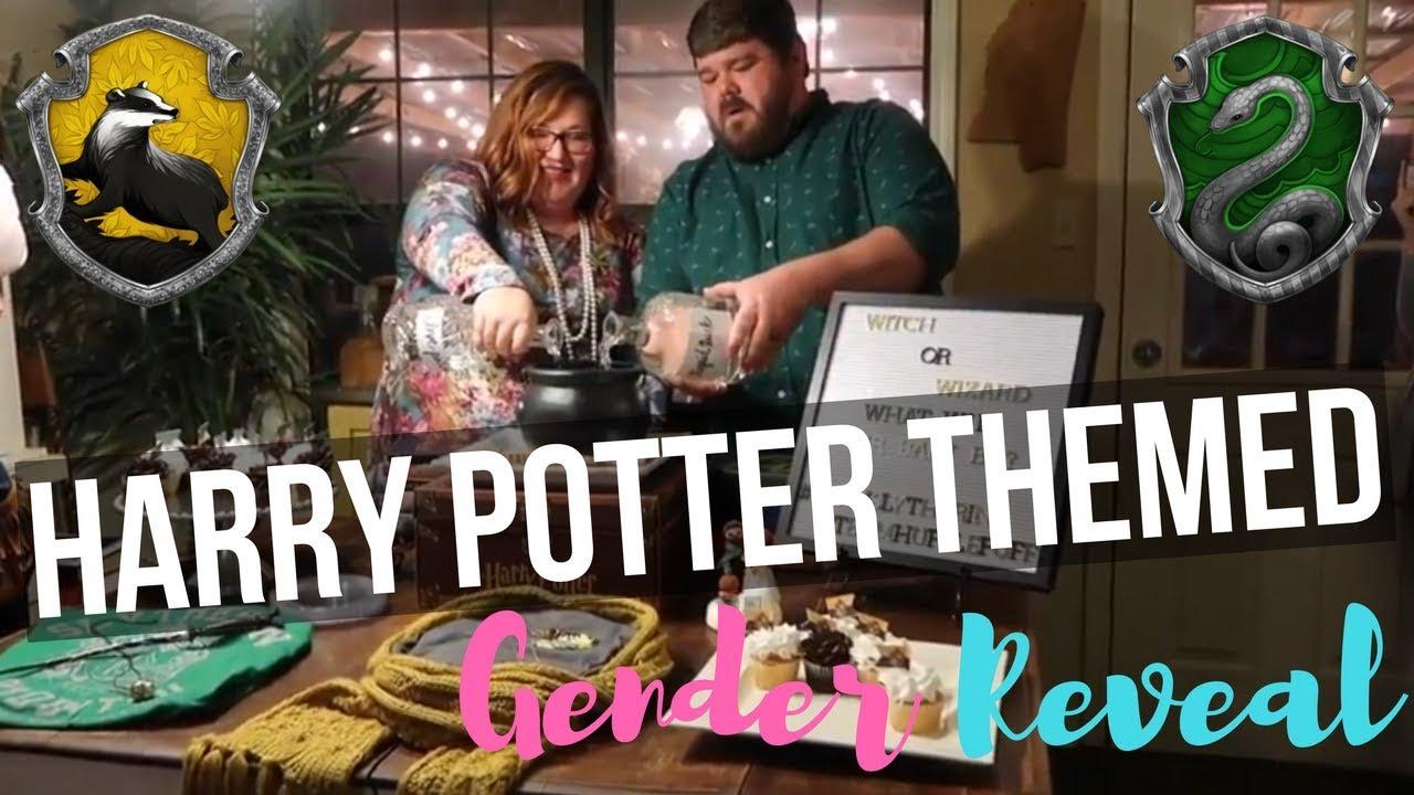 Harry Potter Themed Gender Reveal Youtube