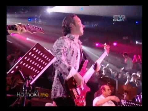 Hamaki with Nawaal El Zoghby Singing Ala Ainy (from Taratata Interview)