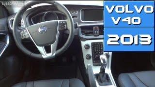 Volvo v40 2013 inside