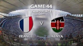 France vs Kenya Capetown 7s 2015/16 - Third Place