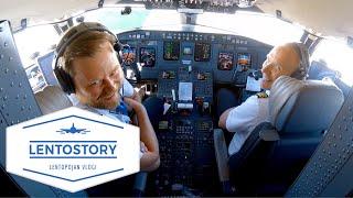 Lentostory: Laskeutuminen märälle kiitotielle