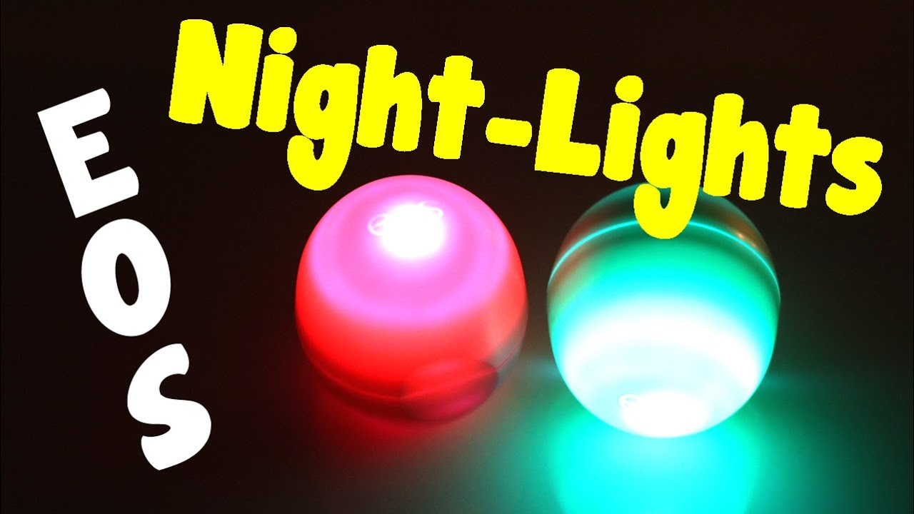 Balm christmas gift turn old eos containers into cool crafts ideas - Diy Eos How To Make A Night Light From An Eos Container Room Decor Idea Craft And Project Idea Youtube