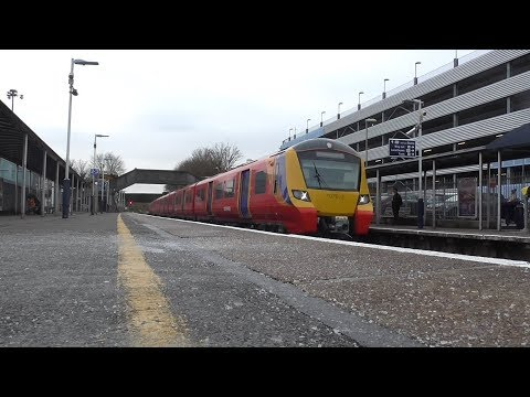 SWR Class 707 on TestTrains at Southampton Airport Parkway 0212Railfanning24