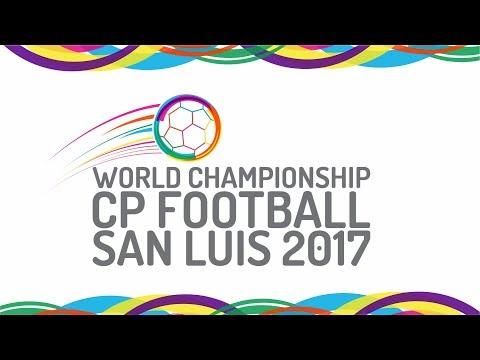 BRAZIL vs IRAN - World Championships Cp Football San Luis 2017 18 / 09 / 2017