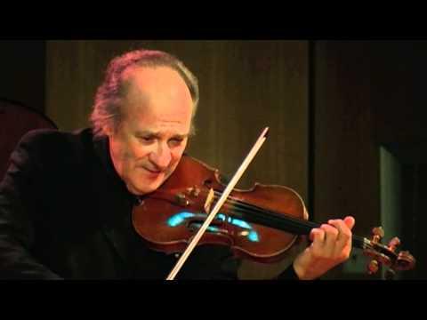Régis Pasquier - 3e Sonate pour Violon & Piano de Enesco