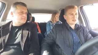 Полный тест драйв Ниссана Лиф Nissan Leaf.  4 человека в авто.