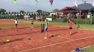 Jeugd clinic tennisvereniging Frankrijk