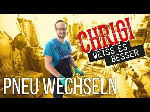 Chrigi weiss es besser: Pneu / Schlauch wechseln   Mofakult.ch