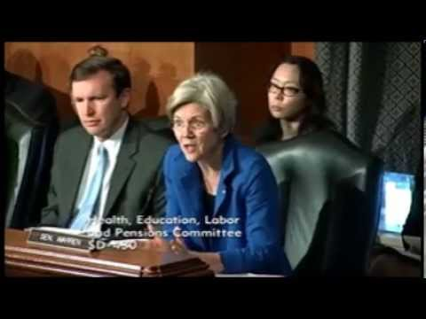 Senator Elizabeth Warren - Reauthorization of The Higher Education Act - 09-19-2013