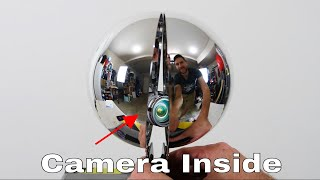 What Does It Look Like INSIDE a Spherical Mirror?