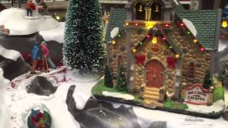 Amazing animated Christmas scenes at Derby Garden Centre