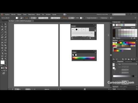 Curso illustrator CC CS6 Introducción 01 Reiniciar Preferencias Capítulo 1