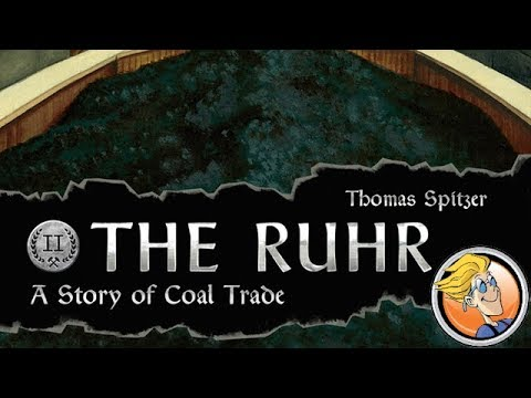 The Ruhr: A Story of Coal Trade — game preview at Gen Con 50