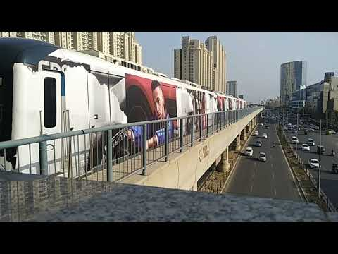 Rapid Metro. Near American Express Gurgaon