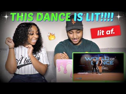 THIS WAS SO LIT!!!! | B-Dash & Jaja Vankova | FrontRow | World of Dance Boston 2017 REACTION!!!