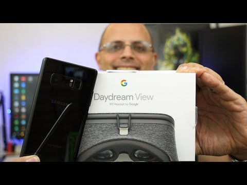 Samsung Galaxy Note 8 With Google Daydream VR Review (Works on S8 and S8 Plus As Well)