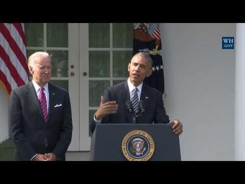 President Obama Delivers a Statement