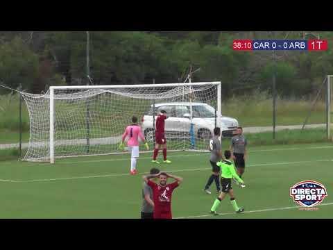 Calcio Promozione Gir  A – Carloforte Arbus 0-1 (Highlights)