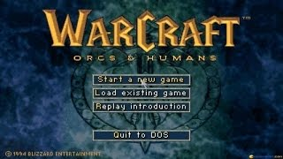 Warcraft gameplay (PC Game, 1994)