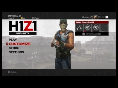 h1z1 uninvited guests stop by for some bbq youtube