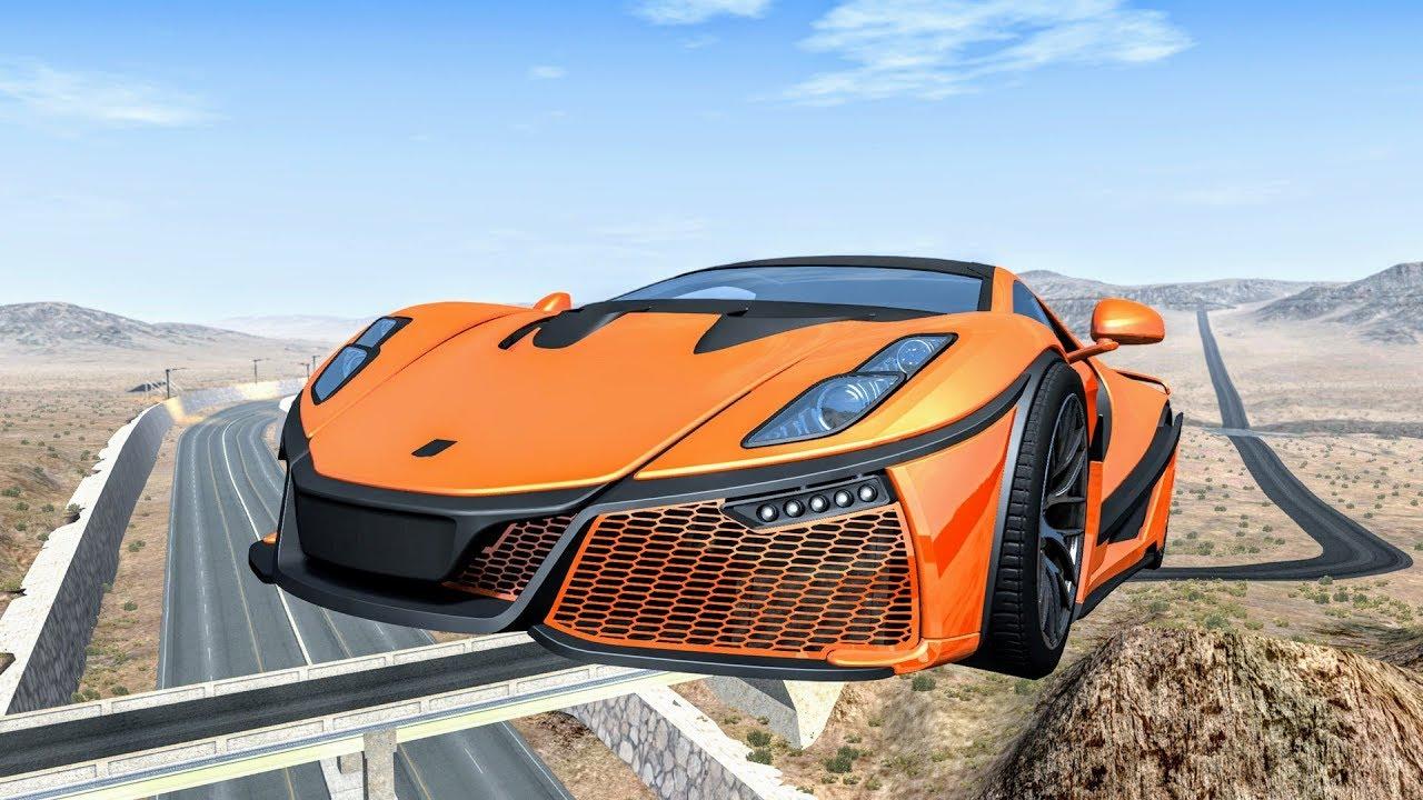 Epic High Speed Jumps #39 - BeamNG Drive   CrashBoomPunk ...