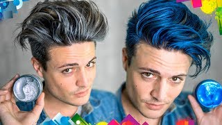Does Hair Coloring Wax Work? | Testing Viral Hair Products | Mens Hair 2017