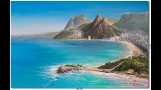Pintura Do Rio De Janeiro Em Oleo Sobre Tela