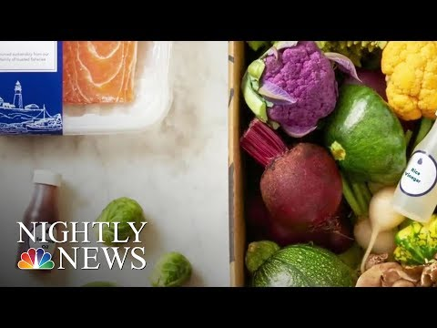 Amazon Announces Ready-To-Cook Meal Delivery Service | NBC Nightly News