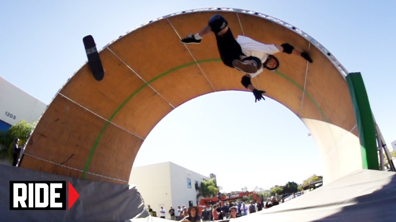 Tony Hawks Loop Of Death Slams Attempts And Makes Full Edit 2013 Youtube