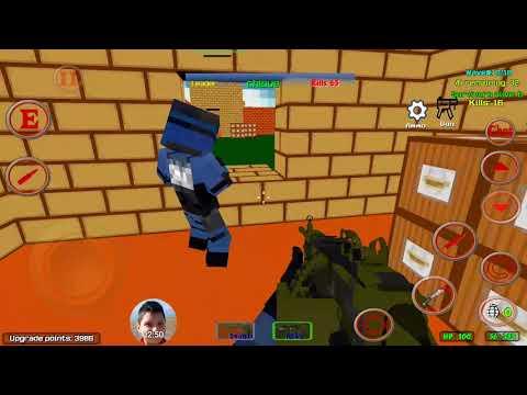 Blocky Combat SWAT Multiplayer Samsung S7 Edge Testing