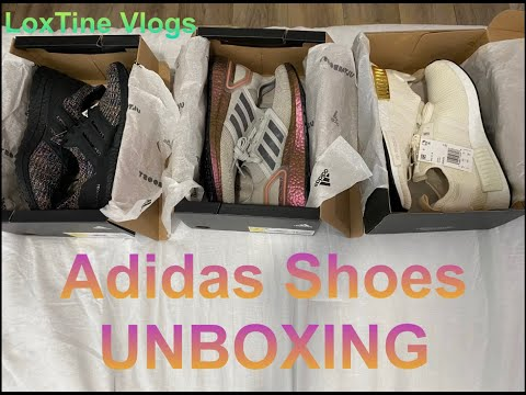 Unboxing 3 Adidas Shoes