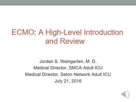 Seton Medical Center Austin ECMO Talk