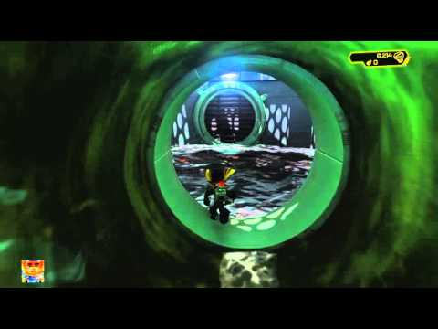 Ratchet & Clank Rilgar Blackwater City - Search the Sewers Walkthrough