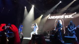 ANDREW W.K.- She Is Beautiful live Corona Capital 2017. by Eduardo Del Valle