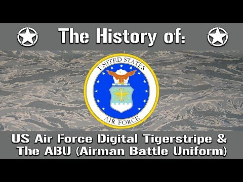 The History Of: The US Air Force Digital Tigerstripe & Airman Battle Uniform (ABU) | Uniform History