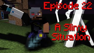 Minecraft Survival Let's Play Ars Technica - Episode 22: A Slimy Situation